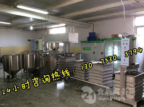 小型豆制品加工设备 汉中自动豆腐干机生产线 厂家直销