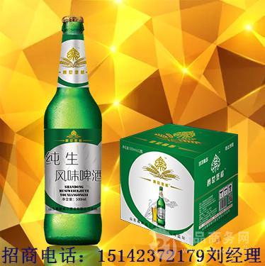 流通便宜啤酒代理商/箱装大瓶啤酒厂家招批发商