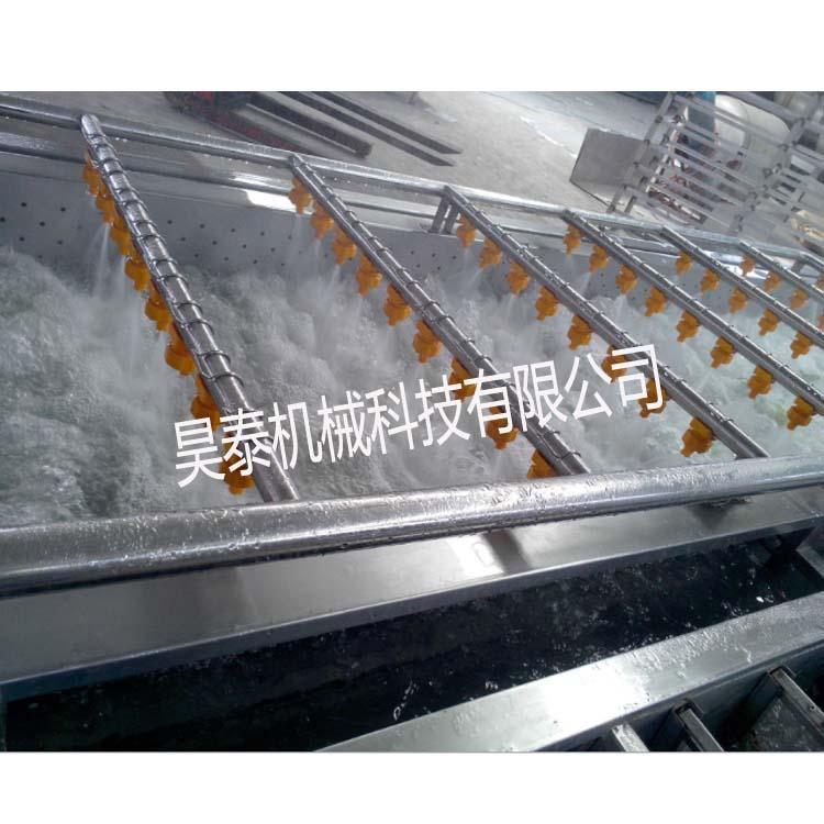 HT-QX 香葱清洗机 多功能气泡清洗 高压喷淋清洗机