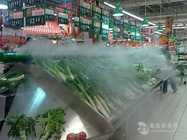 超市蔬菜保鲜喷雾大的加湿器