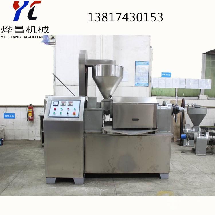 上海多功能榨油机 不锈钢榨油机 花生 菜籽榨油机