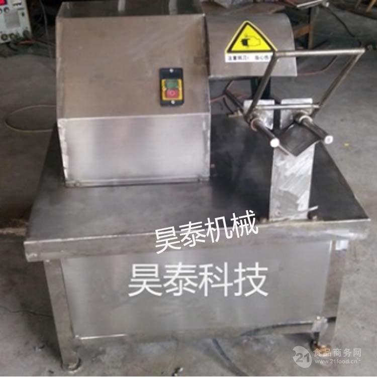 昊泰HT-PBJ 猪蹄加工设备 猪蹄劈半机厂家直销