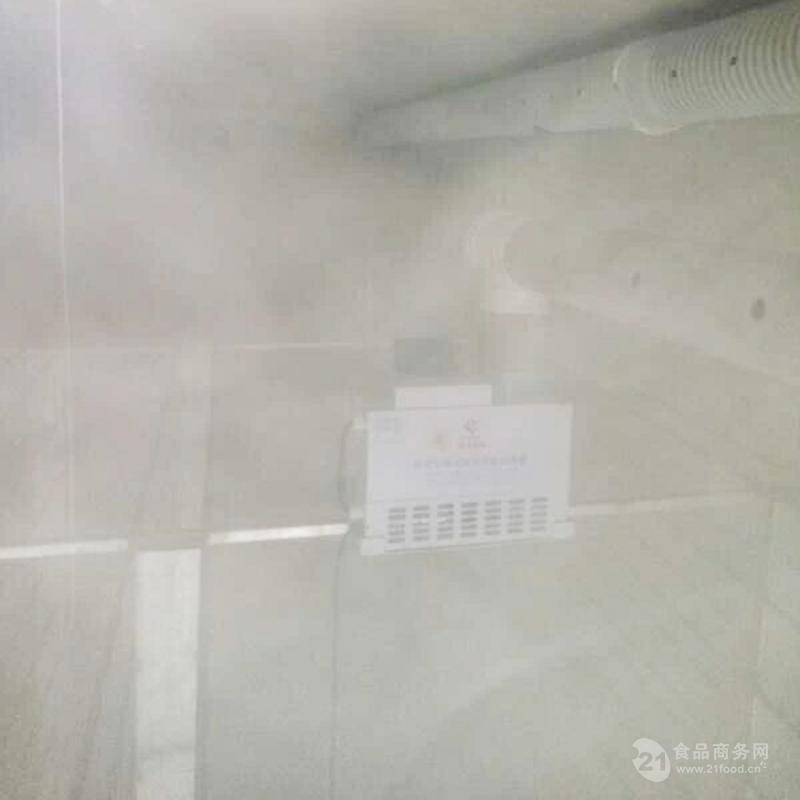 蘑菇大棚喷雾加湿机器效果
