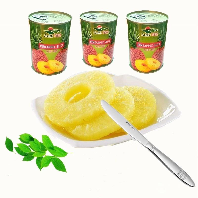 进口菠萝罐头(圆片)550克
