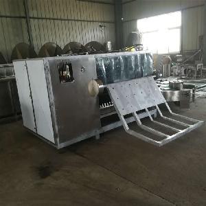 安徽中草药全自动高压喷淋清洗设备流水线