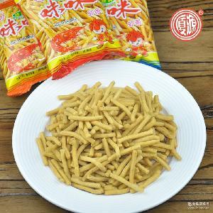 包邮 散装批发 香辣味咪咪虾条休闲零食膨化食品小零食独立小包装
