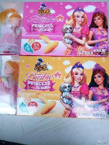 厂家直销贝佳美芭比娃娃玩具饼干 小熊模样儿童玩具饼干