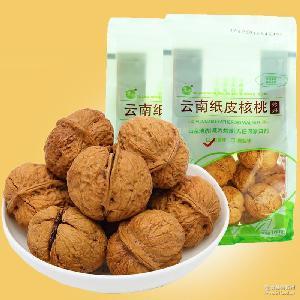云南大理核桃160g奶香味核桃炒果袋装野生坚果手剥纸皮核桃 零食