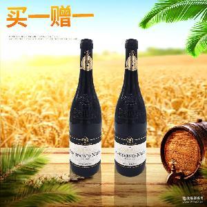 高檔瓶裝紅酒定制 進口法國干紅葡萄酒 莫泊桑尼姆之丘葡萄酒