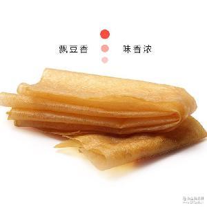 厂家直销 豆腐衣 散装干货豆皮 供应豆制品豆腐皮 小包装豆干
