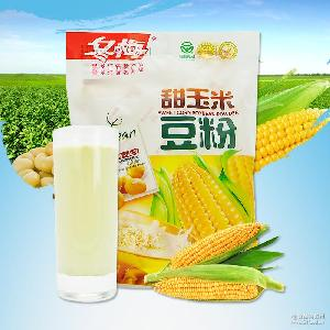 甜玉米豆粉 早餐代餐速溶食品300g/袋 豆漿代餐粉 冬梅豆粉