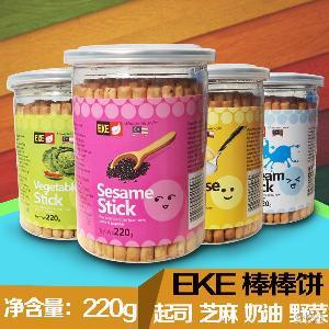 批发 EKE牌棒棒饼干 零食(4味可选)220g