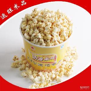 130g即食奶香爆米花 膨化甜味奶油爆米花 运旺米品