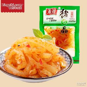 休闲零食 重庆特产有友猪皮晶香辣味60g 山椒味猪皮晶 香辣味
