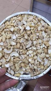 越南生腰果片仁 外贸货源 散装原味广东整箱沃隆500g腰果仁W320