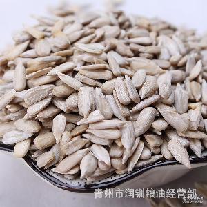 中顆粒生去皮瓜子葵花籽 廠家直銷 蟹黃瓜子酥專用 貨源充足