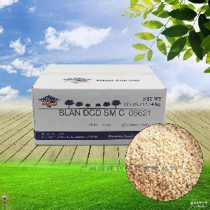 扁桃仁碎原料11.34kg 供应批发美国蓝钻杏仁碎烘焙装饰巴旦木