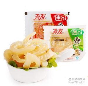 山椒味/香辣味猪皮晶零食特产 重庆特产 有友迷你猪皮晶散称10斤