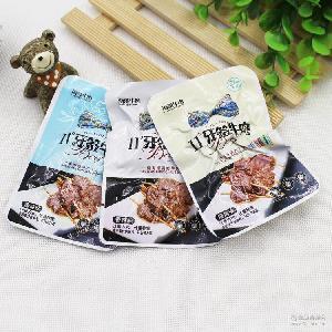 海哥牛肉11度牙簽牛肉湖南特產醬鹵香辣燒烤 整袋2斤