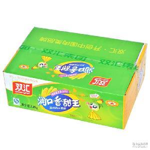 廠家授權 批發火腿腸 零食休閑小吃 95g*40支雙匯潤口香甜王