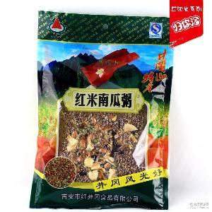 江西井冈山特产袋包装红米南瓜粥八宝粥杂粮小米粥五谷杂粮粥原料