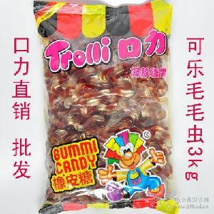 可乐虫 进口trolli3kg批发 德国迈德儿口力橡皮糖