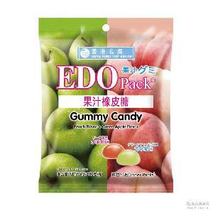 pack果汁橡皮糖三种口味 EDO