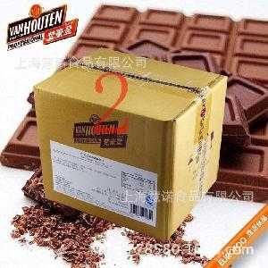 梵豪登耐烘焙黑巧克力豆(純可可脂) 巧克力粒6kg