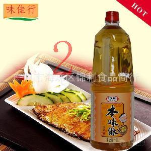 日式甜料酒 坂川本味淋调味料 寿司材料 发酵调味料 1.8L*6 正品