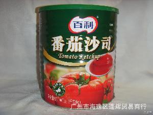 番茄酱广州 经销百利产品系列 番茄沙司 百利 蓬辉供应