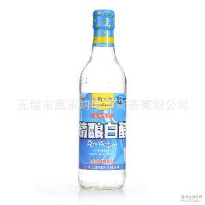 寶鼎天魚 寶鼎精釀白醋500ML*12瓶 大米釀造純釀白醋 廠家代理
