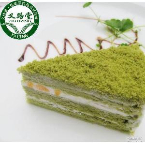 【義路堂】約翰丹尼 蒸燴煮抹茶黃桃冷凍蛋糕 休閑食品甜點