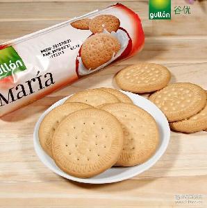 Gullon西班牙进口谷优玛丽亚饼干 200g 16包/箱