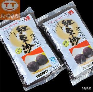 京日红豆沙馅料 蜜豆 红小豆 冰皮月饼烘焙原料批发500g*20