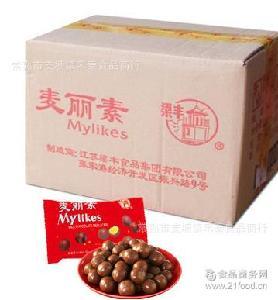 麦丽素 80g*40袋/箱 巧克力(代可可脂制品)整箱 梁丰 包邮