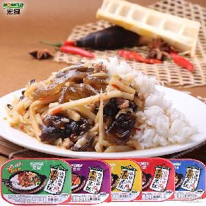 宏綠自熱米飯420g即食速食方便菜肴包米飯淘寶微商貨源一件代發
