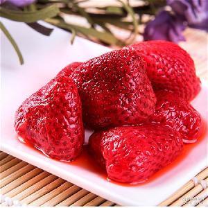 也加工草莓果酱 厂家直销 整冻草莓 速冻草莓