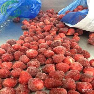 冷凍速凍草莓 廠家大量供應出口級優質冷凍草莓/単凍草莓25-35mm