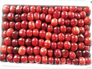 批发美红灯樱桃 纯天然有机绿色新鲜大樱桃 个大味甜
