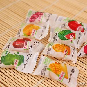 鮮乳球 多種口味 奶糖糖果婚慶結婚喜糖批發代理 軟糖