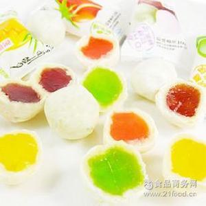 好利源软糖鲜乳球水果脆皮 散装 糖果点心特产 2500g