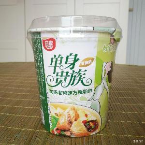 12盒/箱 四川特产 白家单身 酸汤老鸭粉丝70克