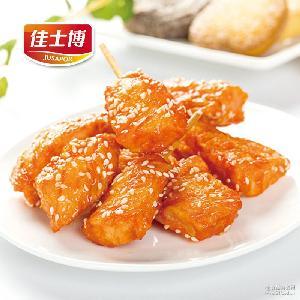 迷你鸡肉串 油炸串 佳士博 小鸡肉块调理速冻食品 厂家直销批发
