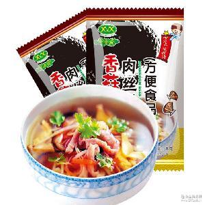 新美香菠菜紫菜香菇肉丝汤多口味8g鲜蔬芙蓉汤包冲泡速食汤批发