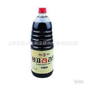拌菜用) 蒸 韩国产 蒙古真酱油1.8升(紫菜包饭 炒 寿司酱油