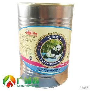 熊貓乳品煉乳5kg桶煉奶醬甜煉奶煉乳奶茶蛋糕烘焙店原料整箱4罐