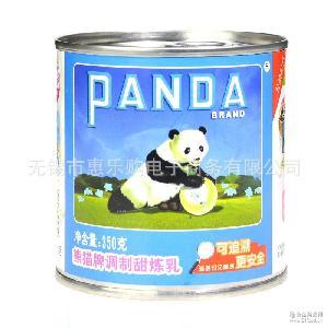 甜炼乳 熊猫牌炼乳350g*48罐 江苏代理 蛋挞?#26696;?#38754;包用炼奶甜奶酱