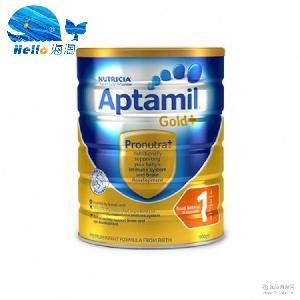 金装AITAMEI奶粉 婴儿奶粉1段2段900克/罐批 澳洲进口奶粉