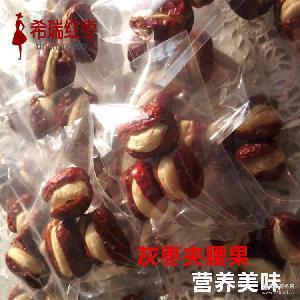 干果散货500g 腰果大红枣夹心 厂家直销批发 新疆枣夹腰果
