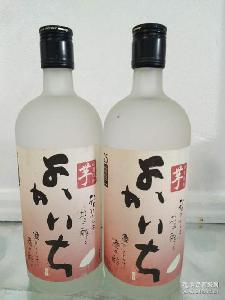 日本品牌 吟酿烧酒 日本烧酒优佳一 芋味烧酒720ml